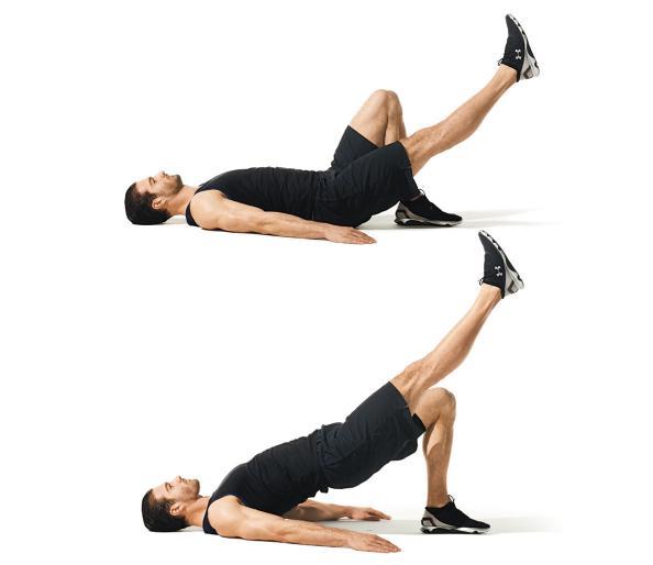 Stability Ball Glute Bridge: 3 Exercises That Better Than Running • THE Stephane ANDRE