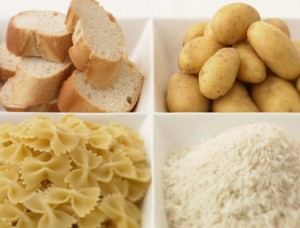 white carbohydrate