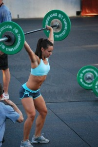 woman lift heavy