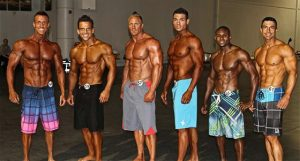 mens physique competition
