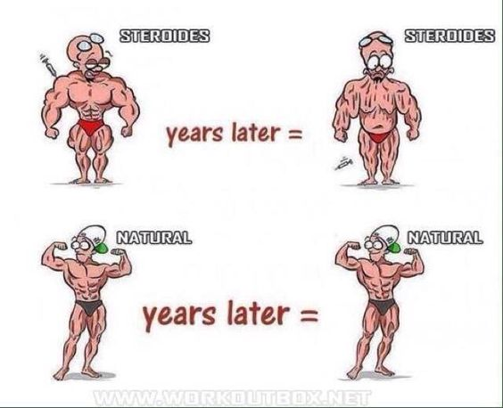 the negative impact of steroids on the human body