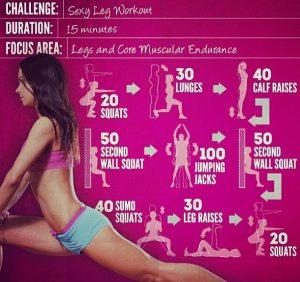 women workout program