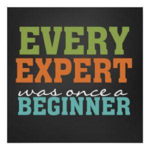 beginner expert