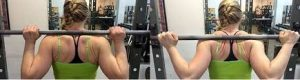barbell wrapped grip thumbless grip