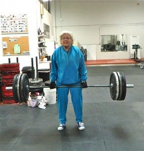 grandmother deadlift