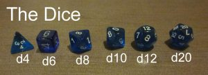 dice role playing game