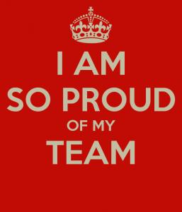 team proud