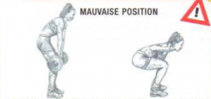 disc herniation bad positon squat deadlift