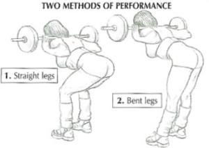 good morning leg exercise method straight bent leg