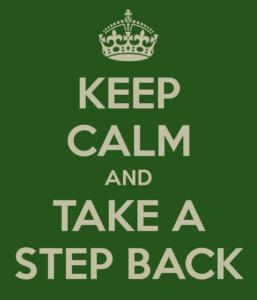 keep calm stress