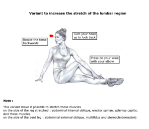 stretching glutes variant