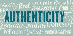 authenticity authentic