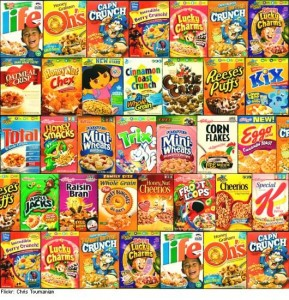 Sugary Cereals
