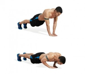 Close-grip Pushup