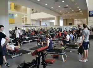 Gym full
