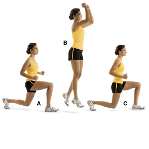 Hopping Lunge