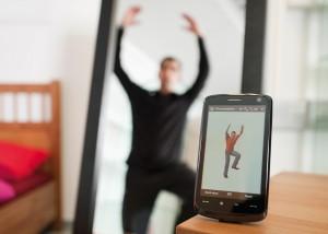 fitness online smartphone