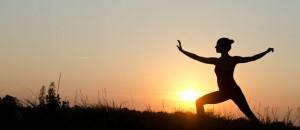 tai chi meditation mouvement girl