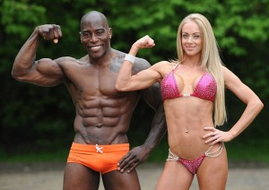 fitness model couple
