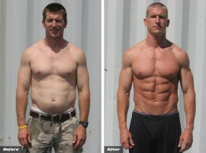 body transformation man