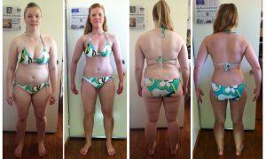 body tranformation woman