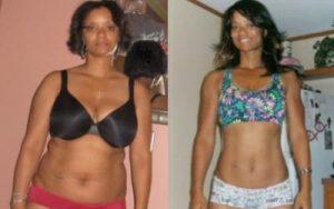 body transformation woman