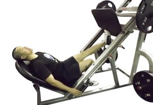 calves extension leg press one leg