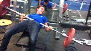 bench press fail