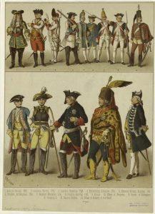 german soldier 1700