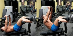 weighted decline crunch
