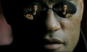 matrix morpheus neo blue red pills