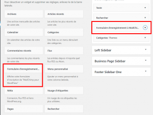 mailchimp for wordpress plugin screenshot