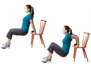 dips with chair