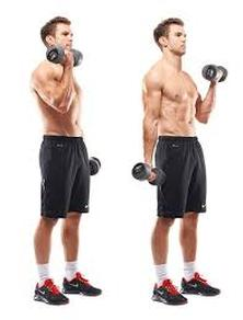 dumbell curls