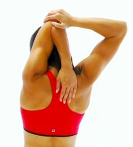 triceps stretching