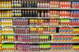 fruit juice supermarket