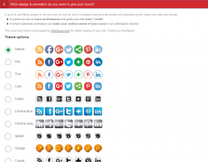 ultimate social media icons screenshot