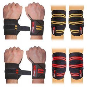 knee wrist wraps