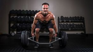 hex trap bar bar deadlift