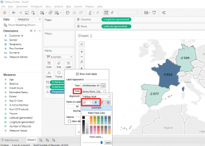 tableau connect excel file geographic map