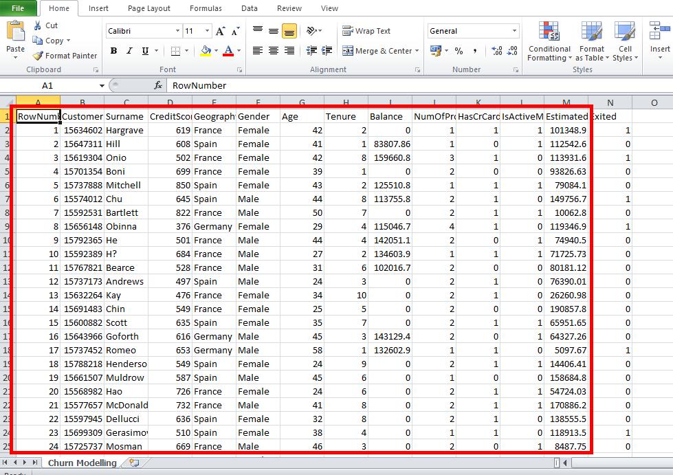 Dataset For Data Mining • The Stephane Andre