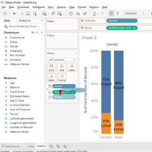 reference line tableau data science