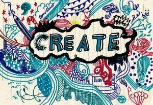 create content