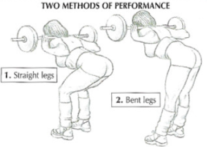 good morning leg exercise method straight bent leg