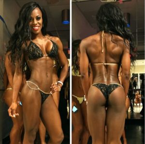 black shredded athlete
