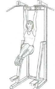 hanging leg raises variant